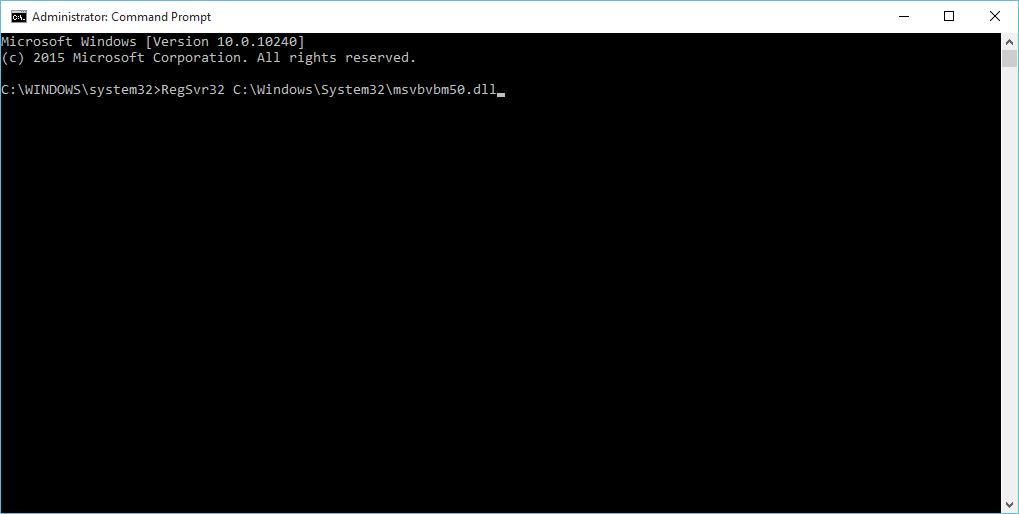 File Not Found: Msvbvm50 dll - Easier Instructions for the Error